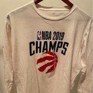 Toronto Raptors NBA Champions Long Sleeve Shirt